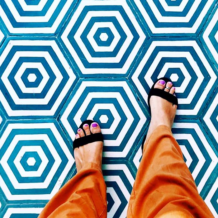 St Tropez Handmade Encaustic Hexagon Tile   Otto Tiles & Design   Encaustic, Moroccan and ...