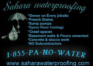 Basement Waterproofing Philadelphia. Wet,damp,flooded,flooding,leaky Old  Stone Basement
