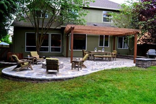 paver patio with pergola. Contemporary With Paver Patio Pergola Fire Pit Seat Wall Lighting Contemporary Patio To Patio With Pergola O