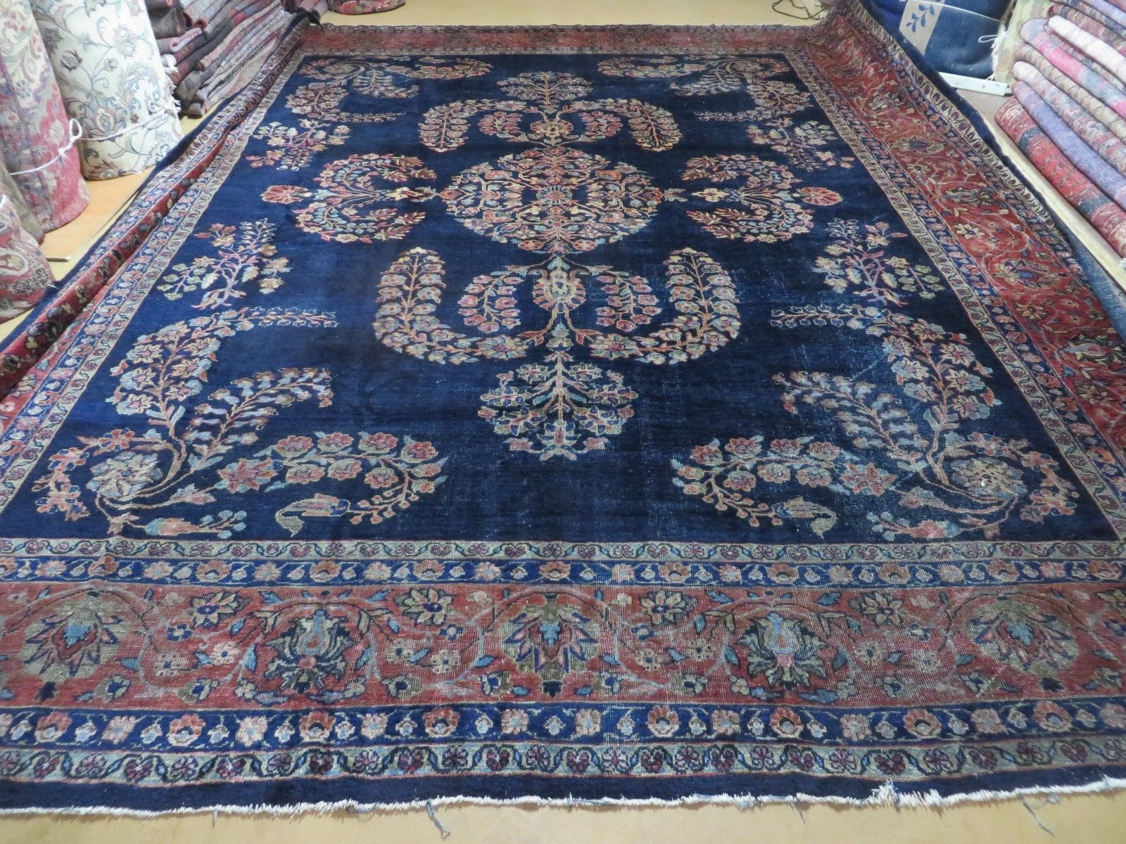 An Antique Art Deco Chiese Rug Rugs On Carpet Carpets For Less Rugs