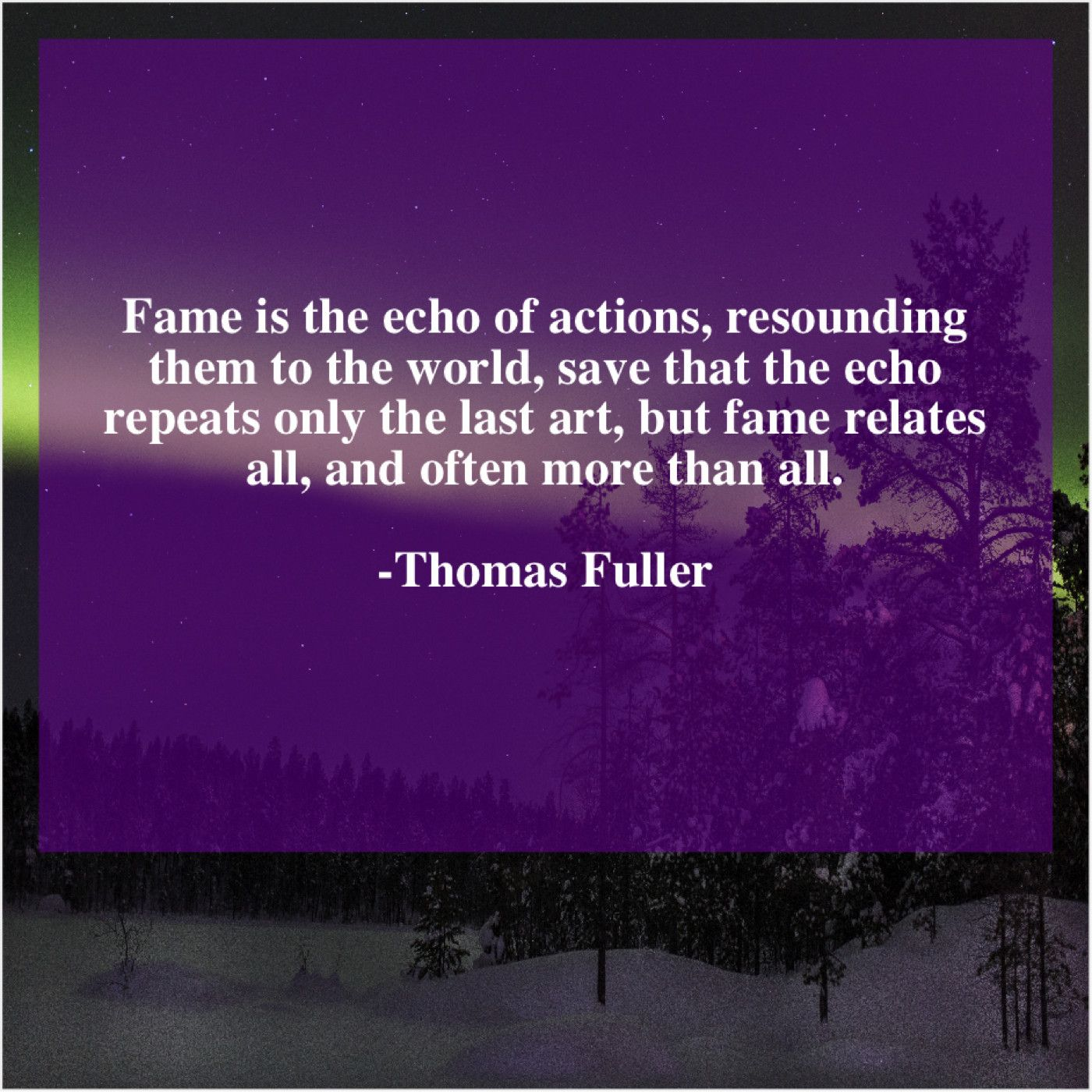 Thomas Fuller Fame Is The Echo Of Earl Warren Paradox Michael Ealy
