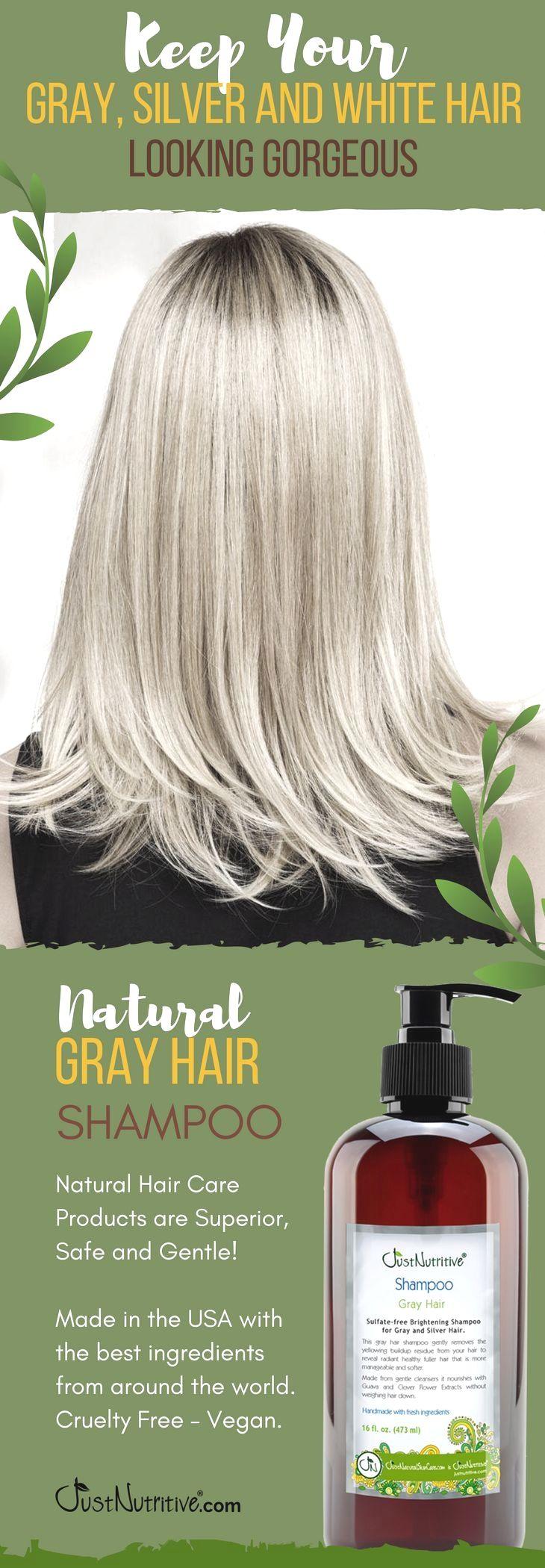 Www Justnutritive Com Gray Hair Nutritive Shampoo Spain Travel Accédez à Notre Site Beaucoup Plus Shampoo For Gray Hair Grey Hair Care Natural Hair Shampoo