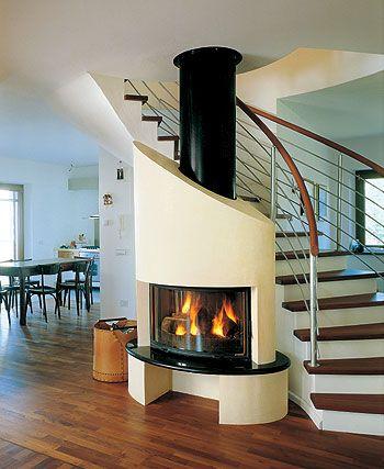 Caminetto Sottoscala Estufas Home Decor Living Room Designs E Home