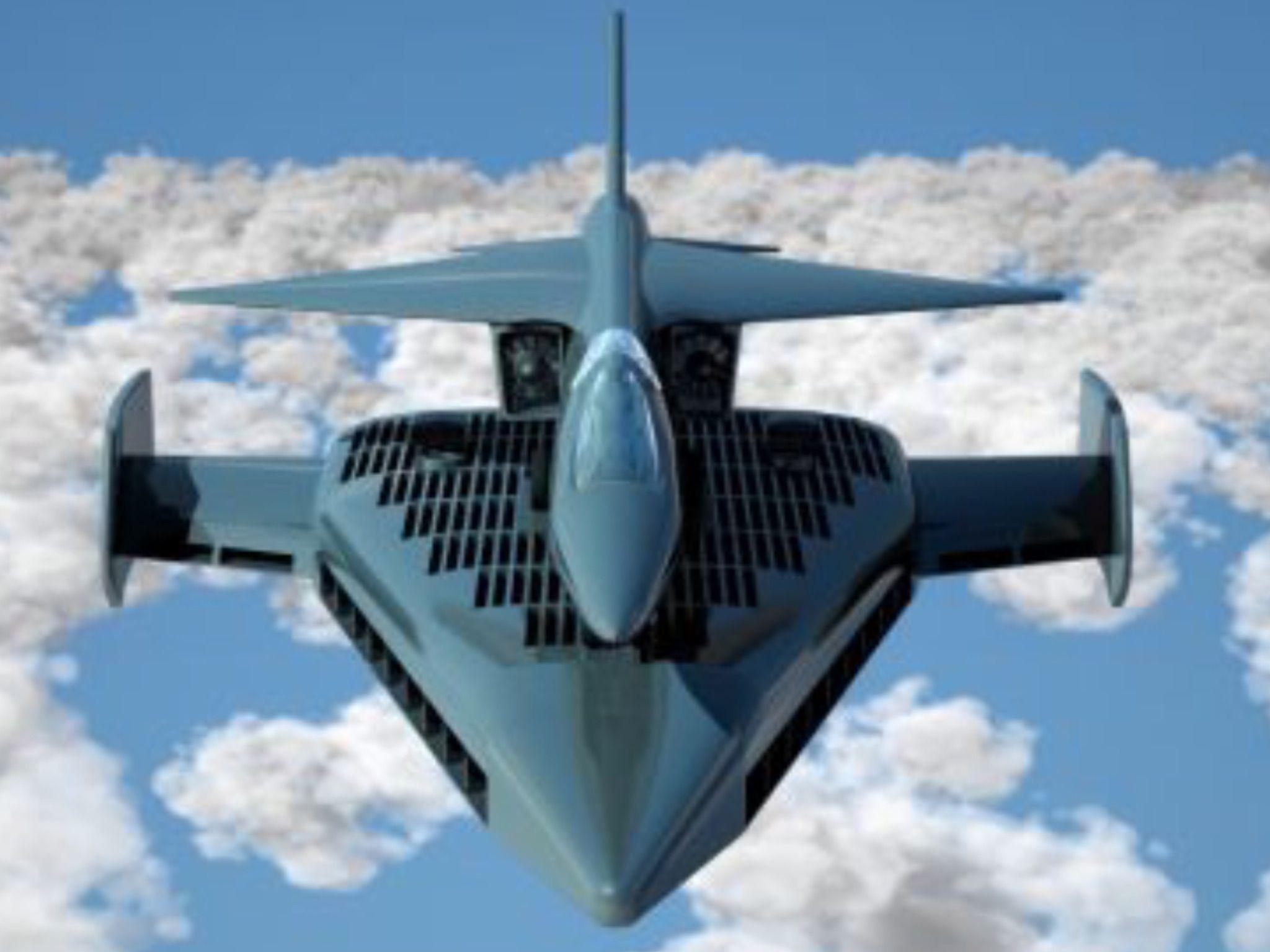 BAe / Shorts P17D Hovering Platform concept 1960s