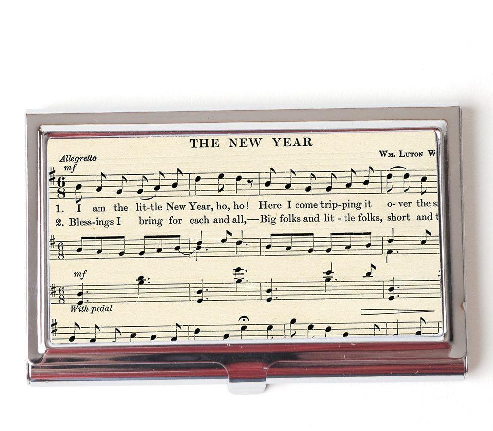 Vintage Sheet Music Business Card Case. ❤ ABOUT JOYFUL MOOSE ...