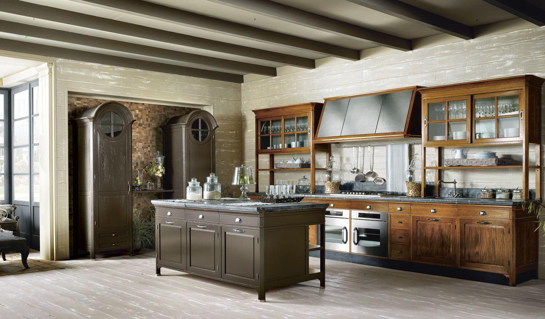 Operà, cucina classica realizzata su misura, cucina ...