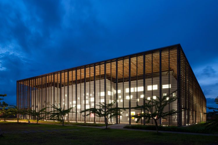 Library for University of Guyana in Cayenne, French Guinea