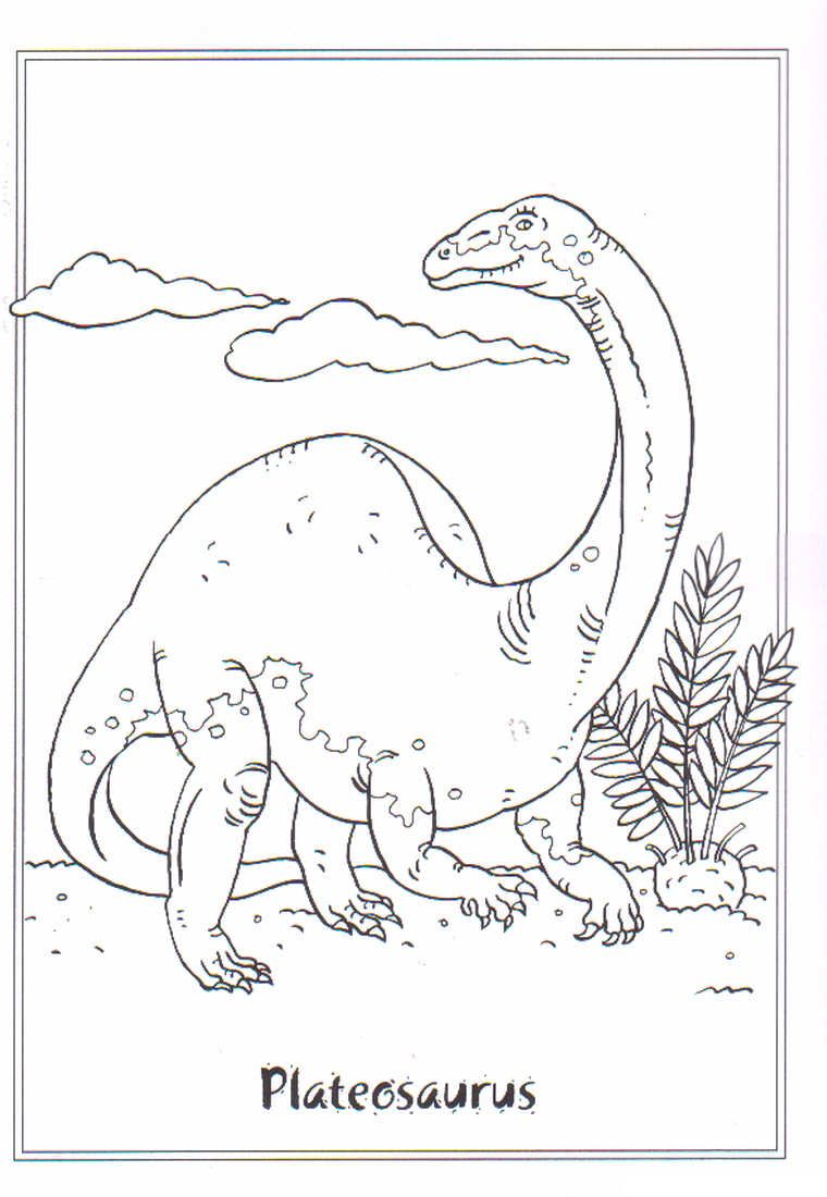 Pin von Ulla Heck auf malbilder | Pinterest | Dinosaurier ...