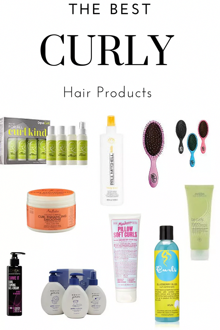 The Best Curly Hair Products Showit Blog Curly Hair Styles Curly Hair Products Drugstore Drugstore Hair Products