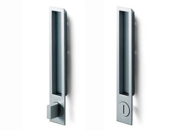 Poignée pour porte coulissante (avec sérrure intégrée) MN 1096 Z by - pose de porte coulissante
