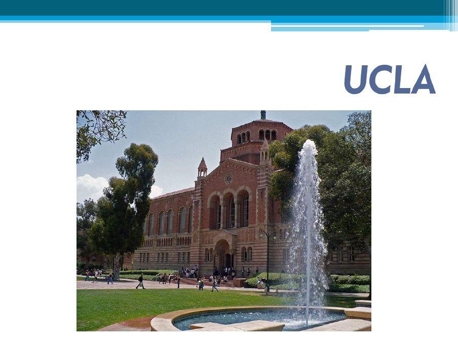 Ucla Scribd Private University University Of California Los Angeles Universities In America