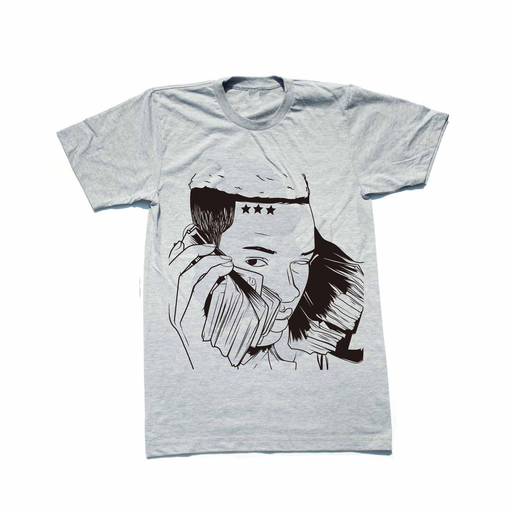 Fetty Wap Heather Grey Tee // T-shirt // Babes & Gents // http://babesngents.com/collections/graphic-shirts // #babesngents