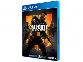 Call Of Duty Black Ops 4 Para Ps4 Activision Magazine Oliverneia Black Ops Loja De Games Call Of Duty