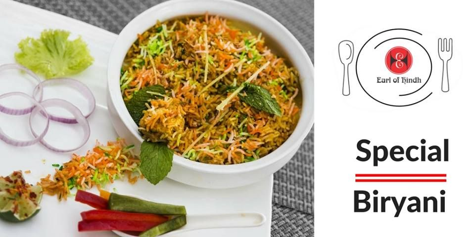 Fridays will not end with Special Biriyani Experience your favorite biriyani only at Earl of Hindh.  Book A Table Now: + 65 6681 6694/+65 6339 3394 Visit us:- http://earlofhindh.com/
