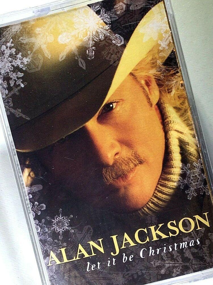 ALAN JACKSON Let It Be Christmas Cassette NEW #alanjackson #countrymusic #countrymusicstars # ...