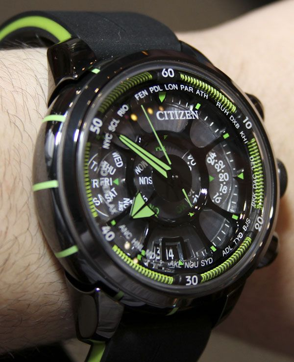 cf59b9fd7ac Citizen Eco-Drive Satellite Wave Watch Hands-On Hands-On