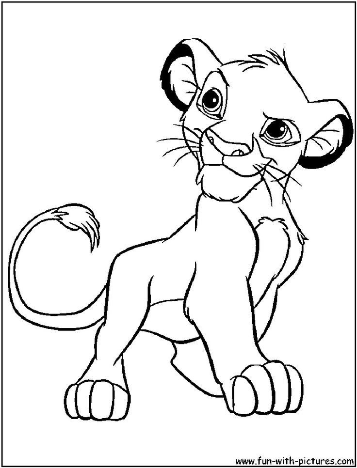 Simba Coloring Pages Luxury 84 Best Baby K S Nursery Images On