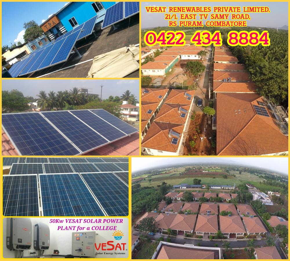 Vesat Solar Solar Solar Companies Solar Power Plant