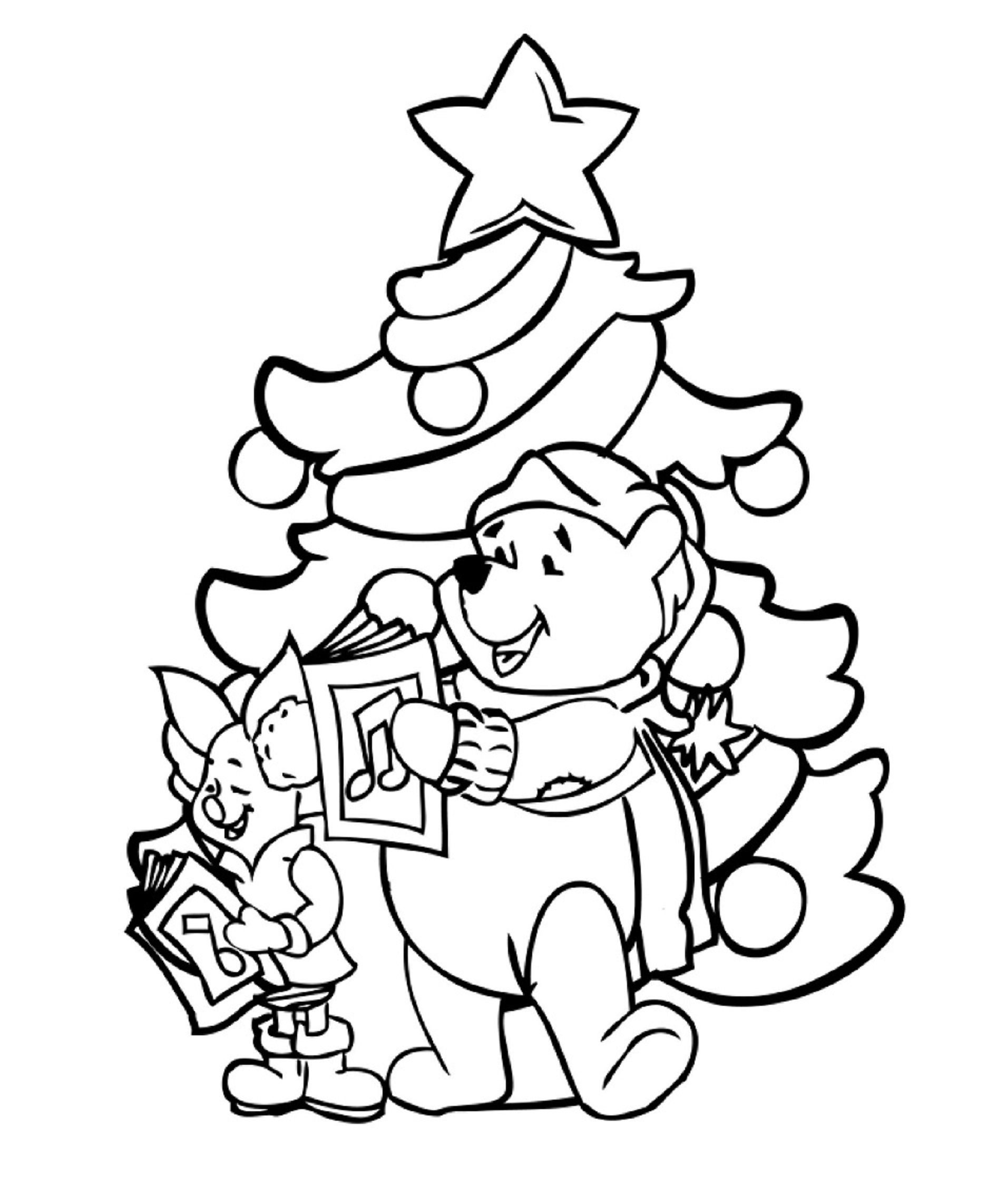 Winnie Knorretje Cartoon Coloring Pages Christmas Coloring Sheets Disney Coloring Pages