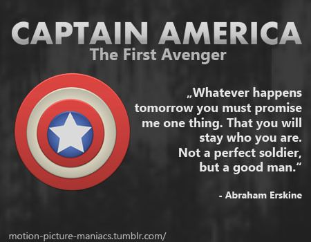 America Quotes Movie Quote Captain America  The First Avenger  Pinterest