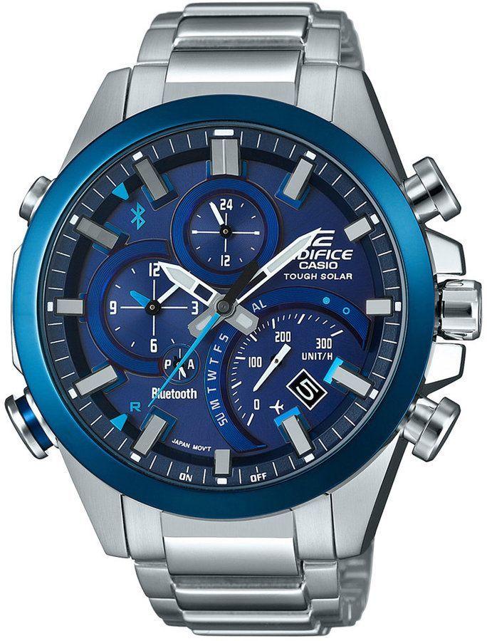 e157e3daa43 G-Shock Men s Edifice Solar Stainless Steel Bracelet Watch 48mm ...