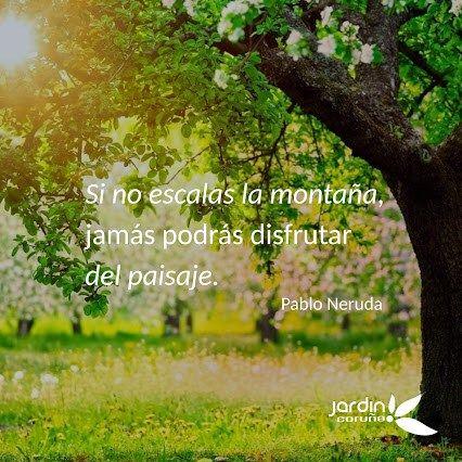 Frases de motivacion en imagenes de jardines imagenes y for Fotos de jardines bonitos