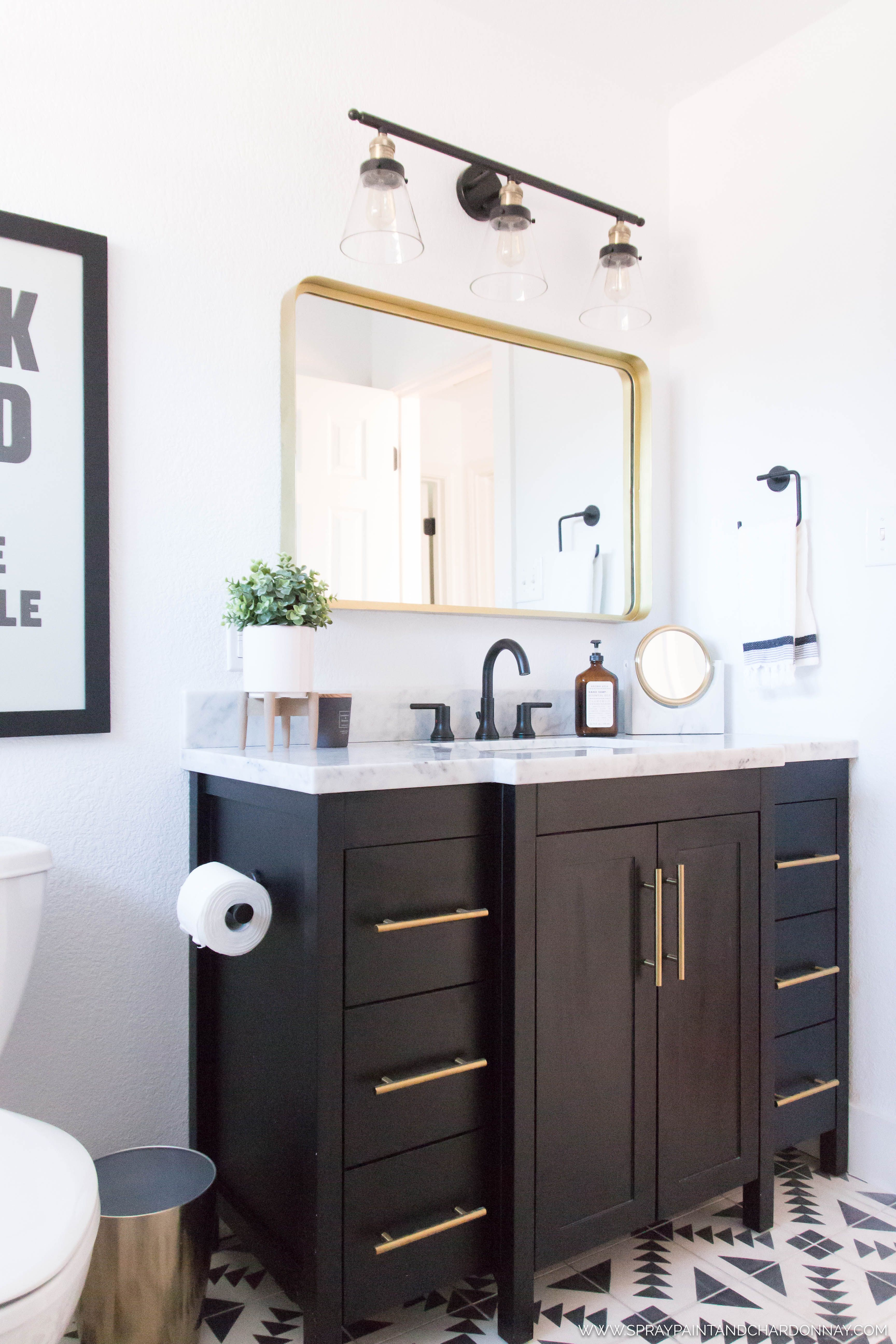 before  after guest bathroom  bathroom remodel cost