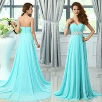 Stunning Teal Chiffon Dresses Light Blue Jpg 200