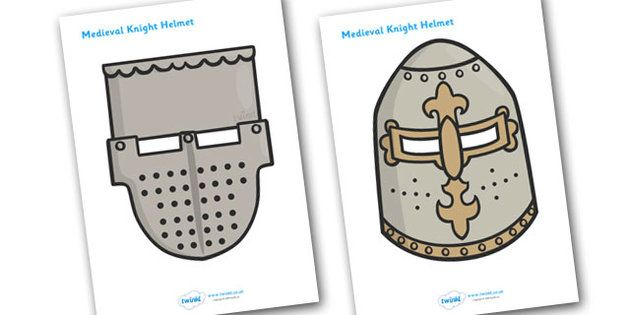 Medieval Knight Helmet Template | dažādi | Pinterest | Role play ...