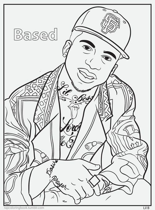 Rapcoloringbook Click Here To Download This Music Pinterest