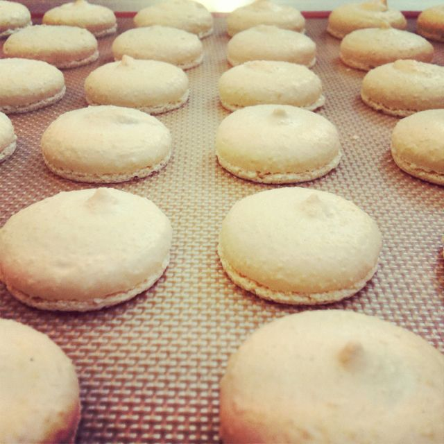 Macaroons made at On cookery school