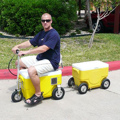 Xtreme cooler scooter