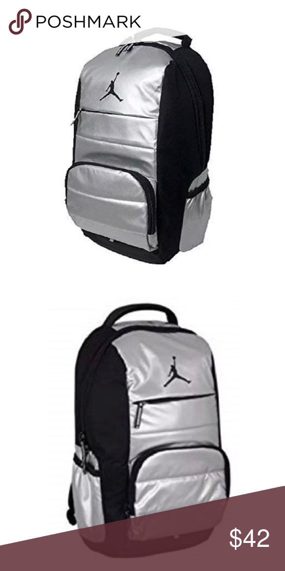 42018c7ce71f Nike Air Jordan Jumpman Youth Kid s Backpack Nike Air Jordan Jumpman Youth Backpack  Laptop Storage Inside
