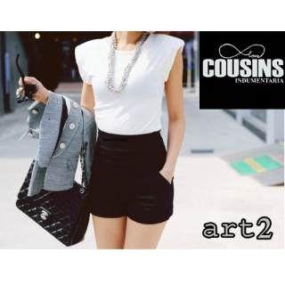 4a59a0ad9c30 shorts tiro alto de vestir - Buscar con Google | pantalones cortos ...