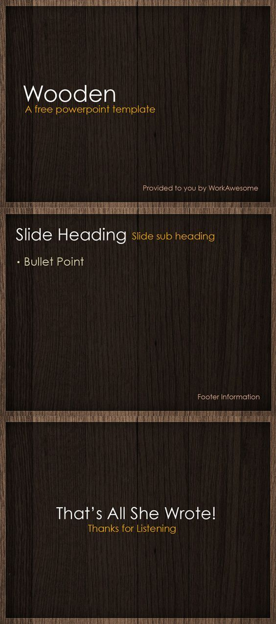 Free powerpoint template wooden templates pinterest explore ppt template templates free and more toneelgroepblik Image collections