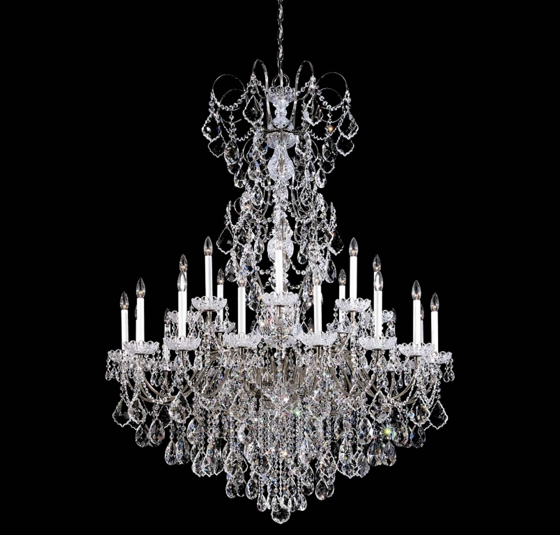 Pin by angiem81 on sparkling crystal chandeliers part 1 wonderful crystal schonbek chandelier with two tier lights mozeypictures Choice Image