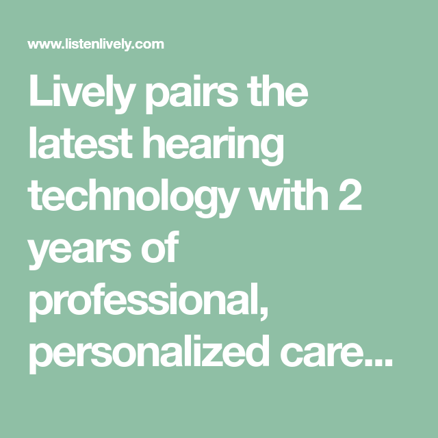 Lively Sells Resound Hearing Aids Online For 1 650