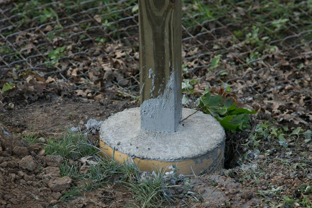 Fence Post Concrete Surface Mounting 4 Quot X 4 In Google