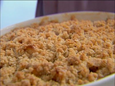 Ina Garten Fall Recipes apple and pear crisp | recipe | barefoot contessa, barefoot and apples