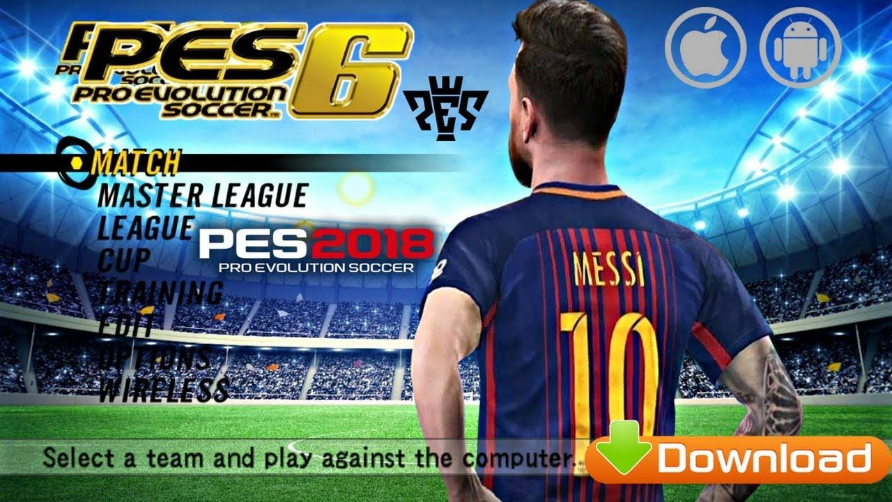 fd1c465434a The Pro Evolution Soccer Six (PES 6) game created. In it already has ...