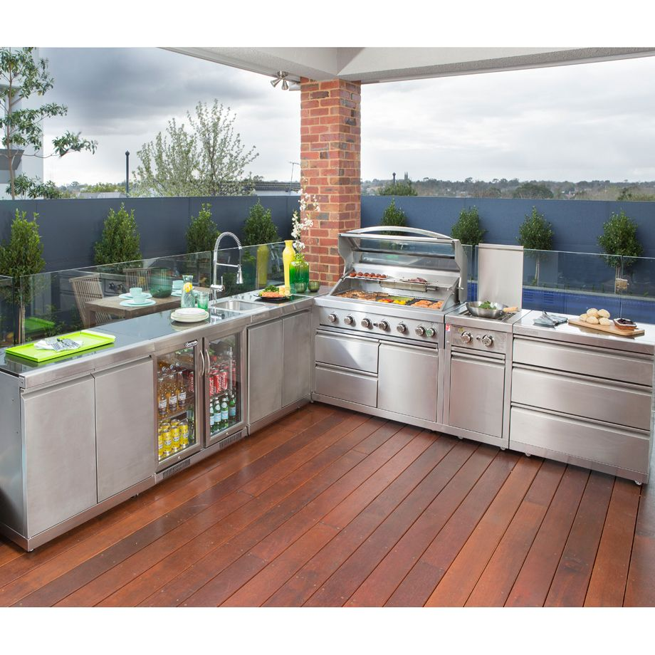 Outdoor Kitchens Jacksonville: Gasmate Platinum II 3 Drawer Module
