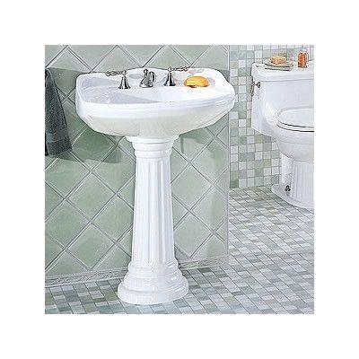 St Thomas Creations Arlington Medium Pedestal Bathroom Sink Gorgeous Wayfair Bathroom Sinks Design Inspiration