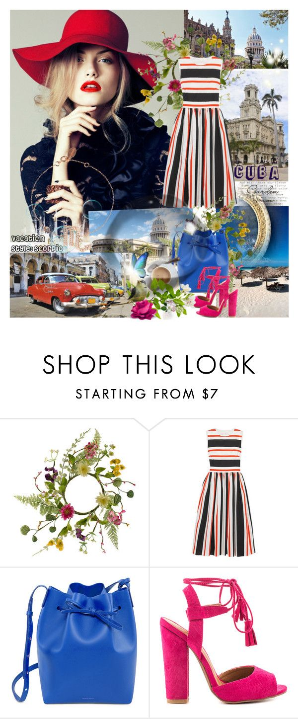 """""""Vacation Style: Scorpio"""" by wutheringheights55 ❤ liked on Polyvore featuring Dolce&Gabbana, Mansur Gavriel, Qupid, Latelita, scorpio and stylehoroscope"""