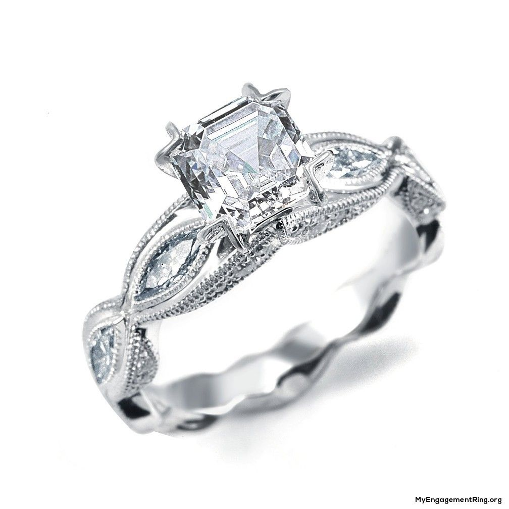 cute vintage engagement ring - my engagement ring | beautiful