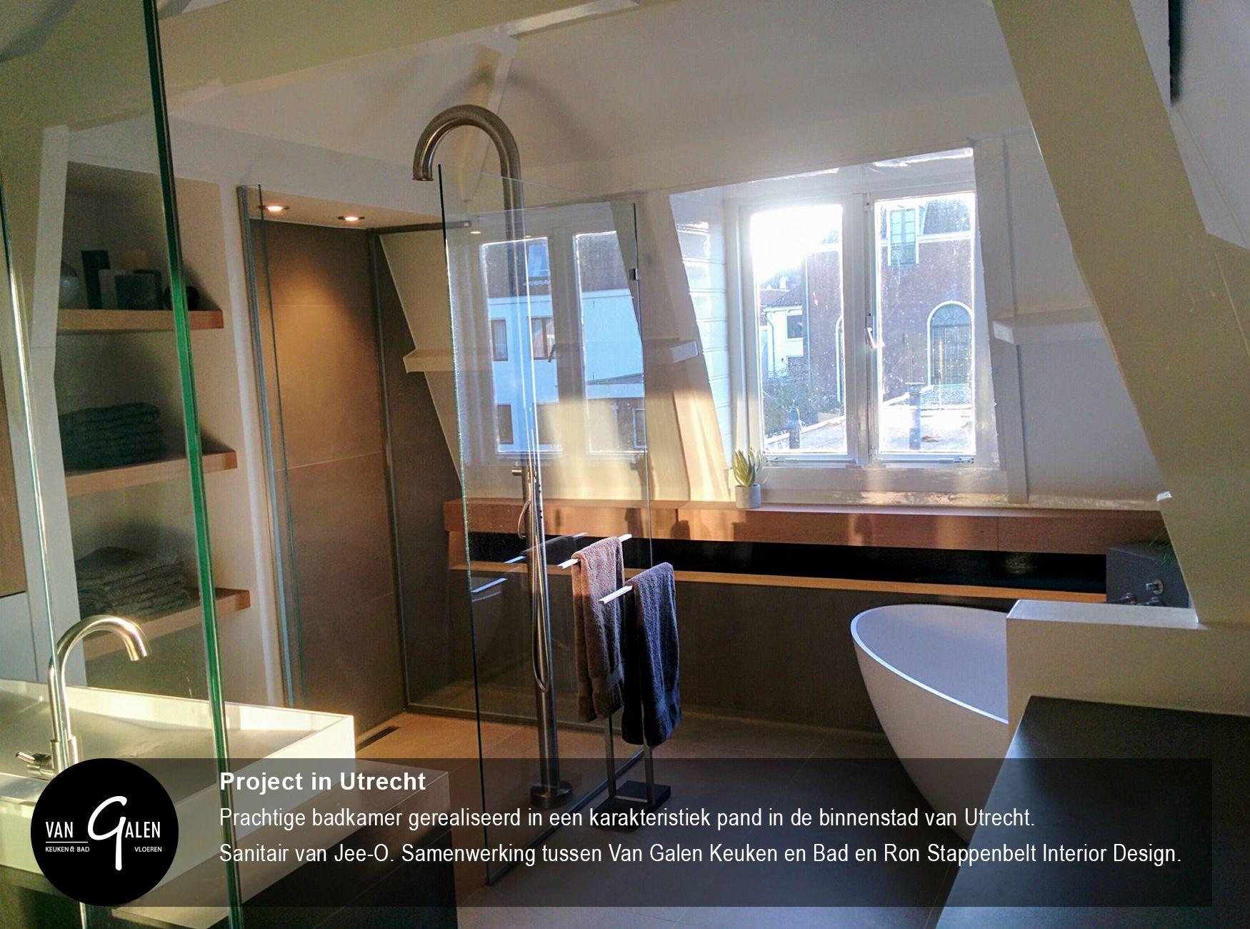 prachtige badkamer gerealiseerd in een karakteristiek pand in de