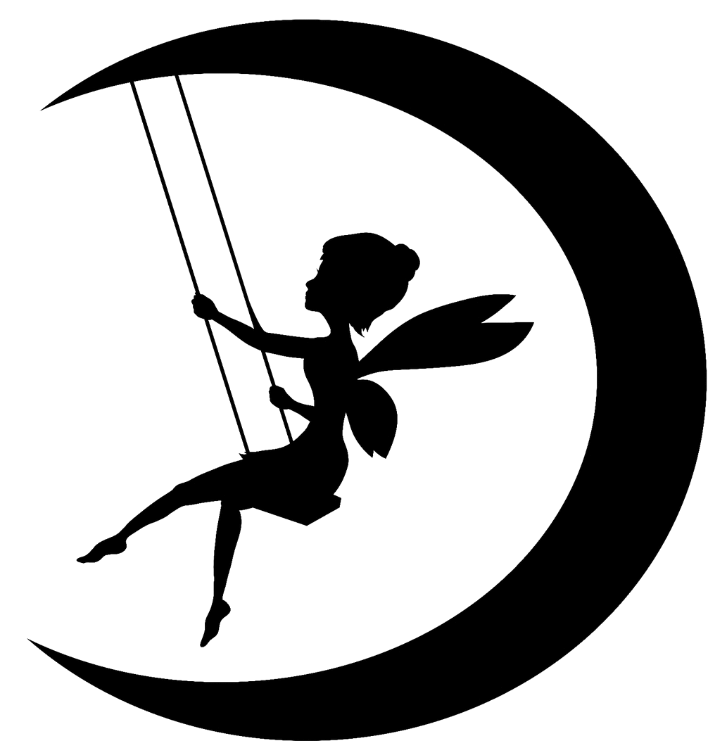 Silhouette Swing On The Moon Celestial Bodies Moon Silhouette Png