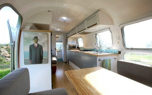 Modern Decor Minimalist Style Vintage Airstream Remodel Ideas Interesting Airstream Interior Design Minimalist