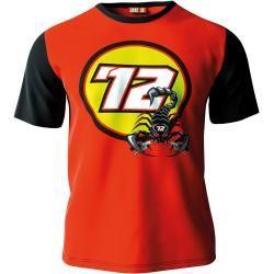 Vr 46 72 Bez T-Shirt Schwarz Rot S Vr46