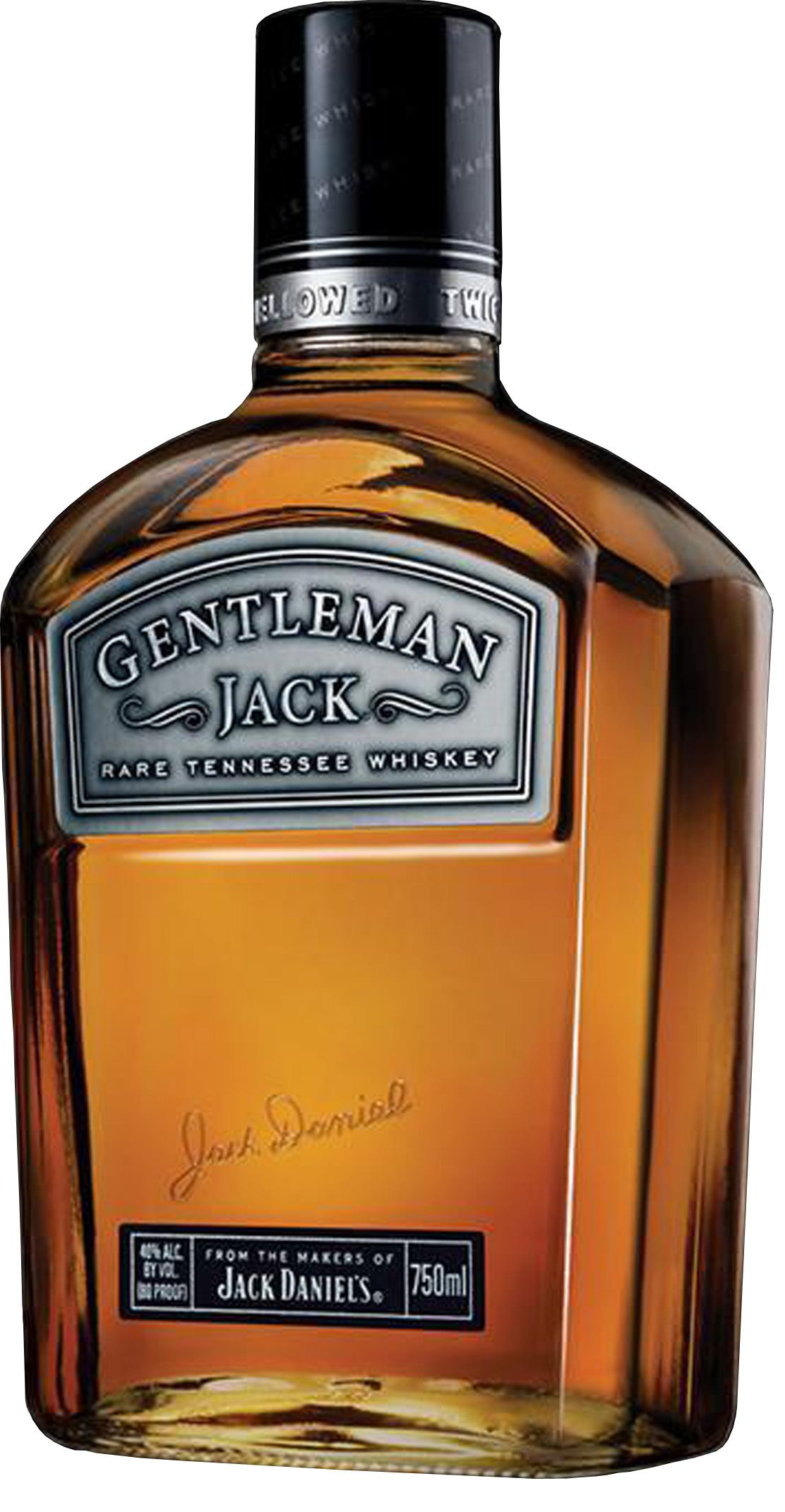 Gentleman Jack ! Drink less, drink better! (Says rich)