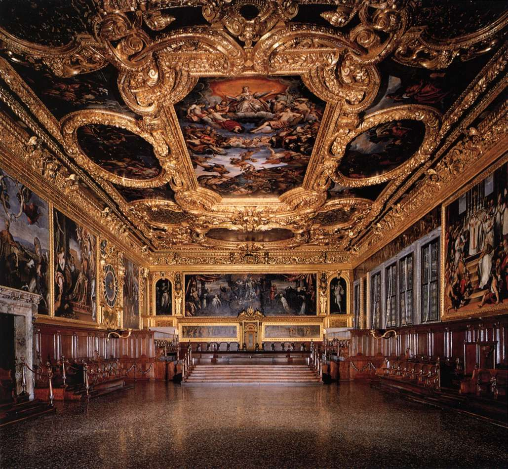 Tintoretto in the Doge's Palace